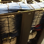 Andover, MA - CAT6, fiber optic and soundmasking installation