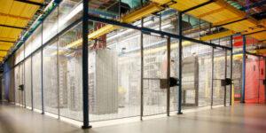 Data Center Cage Installation